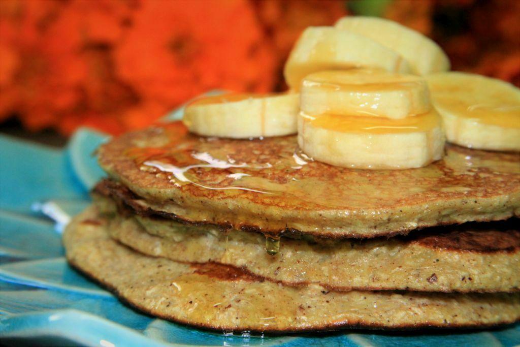 panqueca paleo com 3 ingredientes - amor pela comida