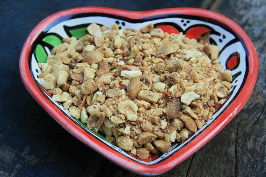 amendoim torrado - amor pela comida