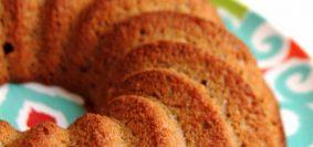 Receita de bolo de maçã de liquidificador, integral, sem glúten e sem lactose