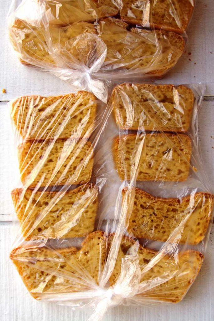 Aprenda como congelar o pão para que dure até 3 meses!