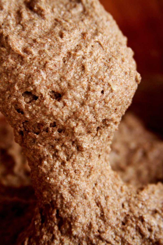textura massa pão com farinha de teff