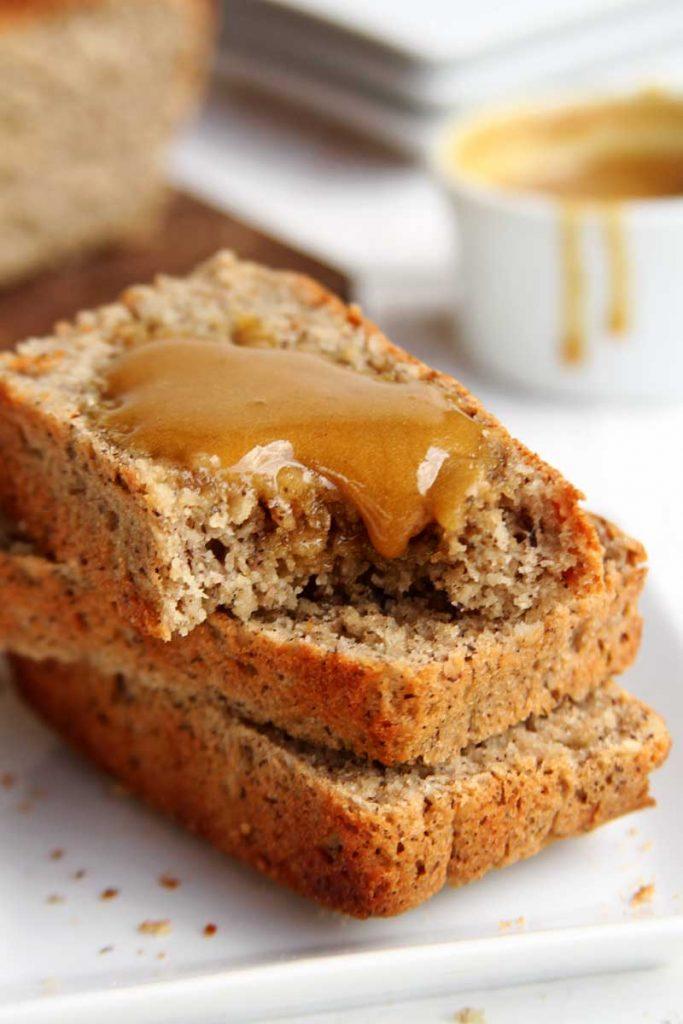 Receita de pão sem glúten, sem lactose, sem ovo muito nutritiva e fácil de preparar!