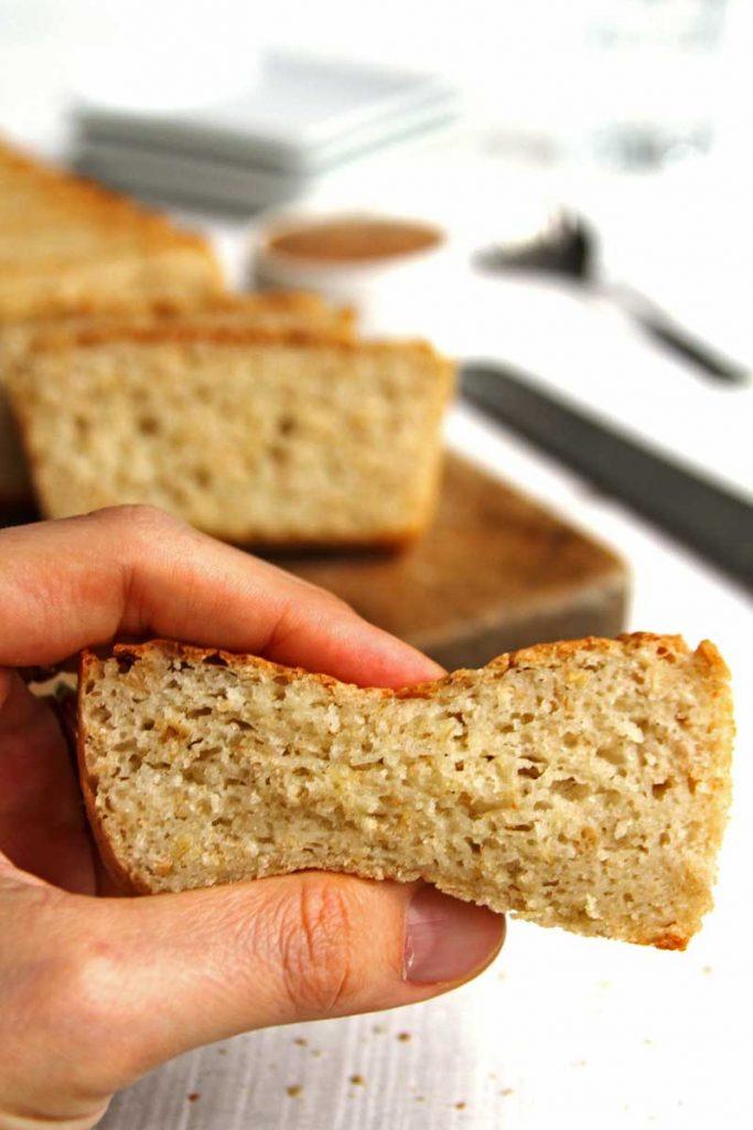 Receita de pão sem glúten, sem lactose , sem ovo, barata e simples de preparar!