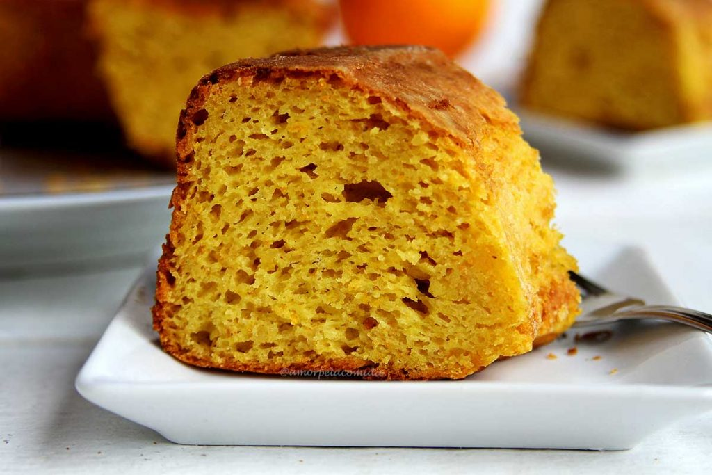 Receita de bolo de laranja com casca maravilhoso de liquidificador super fofinho!