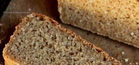 Pão de quinoa e aveia fácil e rápido sem glúten, sem leite, sem ovo